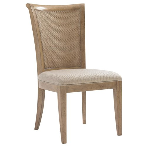 Lexington Monterey Sands <b>Customizable</b> Los Altos Side Chair with Tapered Legs