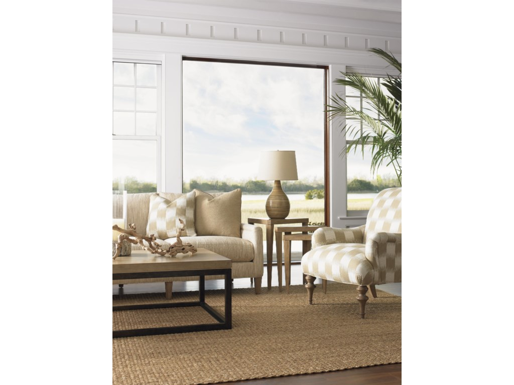 Shown with Signal Hill Sofa, Cupertino Triangular Nesting Tables and Jay Chair