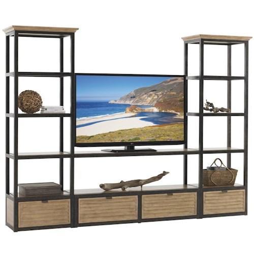 Lexington Monterey Sands Camino Real Media Wall Unit