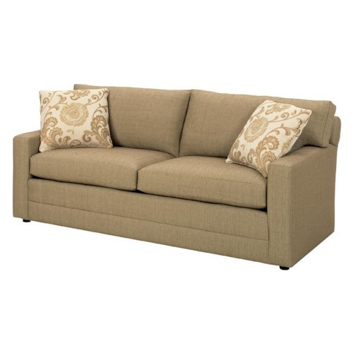 Lexington Personal Design Series Customizable Bennett Sofa with Two-Cushion Seat and Track Arms
