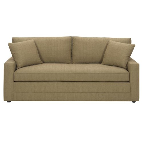 Lexington Personal Design Series Customizable Bennett Sofa with Track Arms and Single Seat
