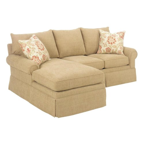 Lexington Personal Design Series Customizable Upholstered Bennett Sectional
