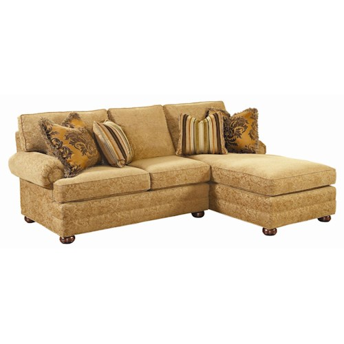 Lexington Personal Design Series Customizable 2-Piece Overland Sectional