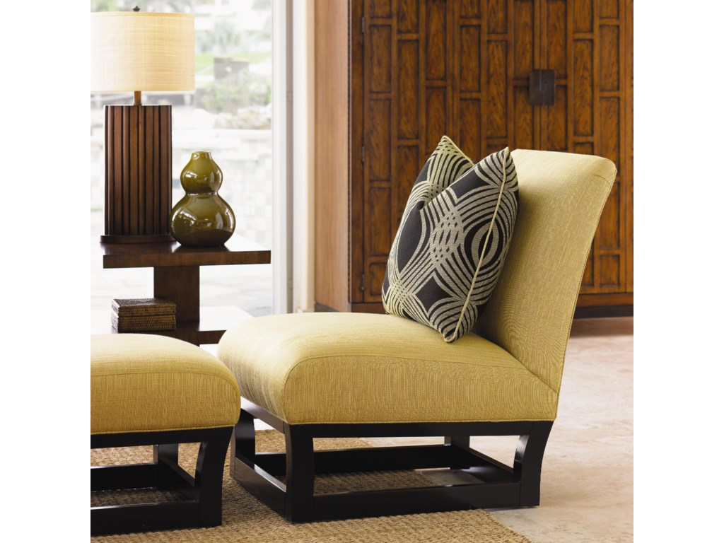Shown with Fusion Ottoman and Lagoon Lamp Table
