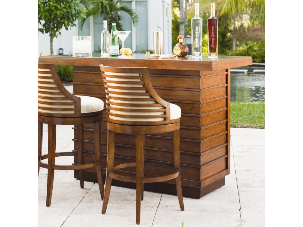 Shown with Parrot Cay Bar