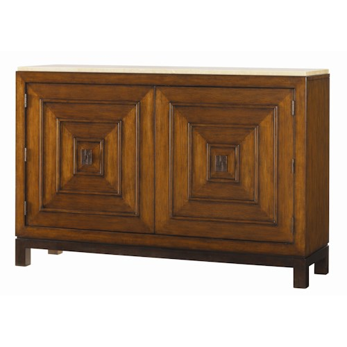 Tommy Bahama Home Ocean Club Jakarta Chest with Stone Top
