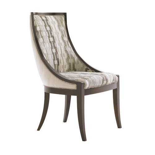 Lexington Tower Place Contemporary <b>Customizable</b> Talbot Upholstered Host Chair