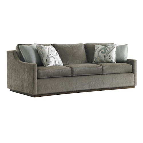 Lexington Tower Place Contemporary Bartlett Sofa with Sloped Track Arms