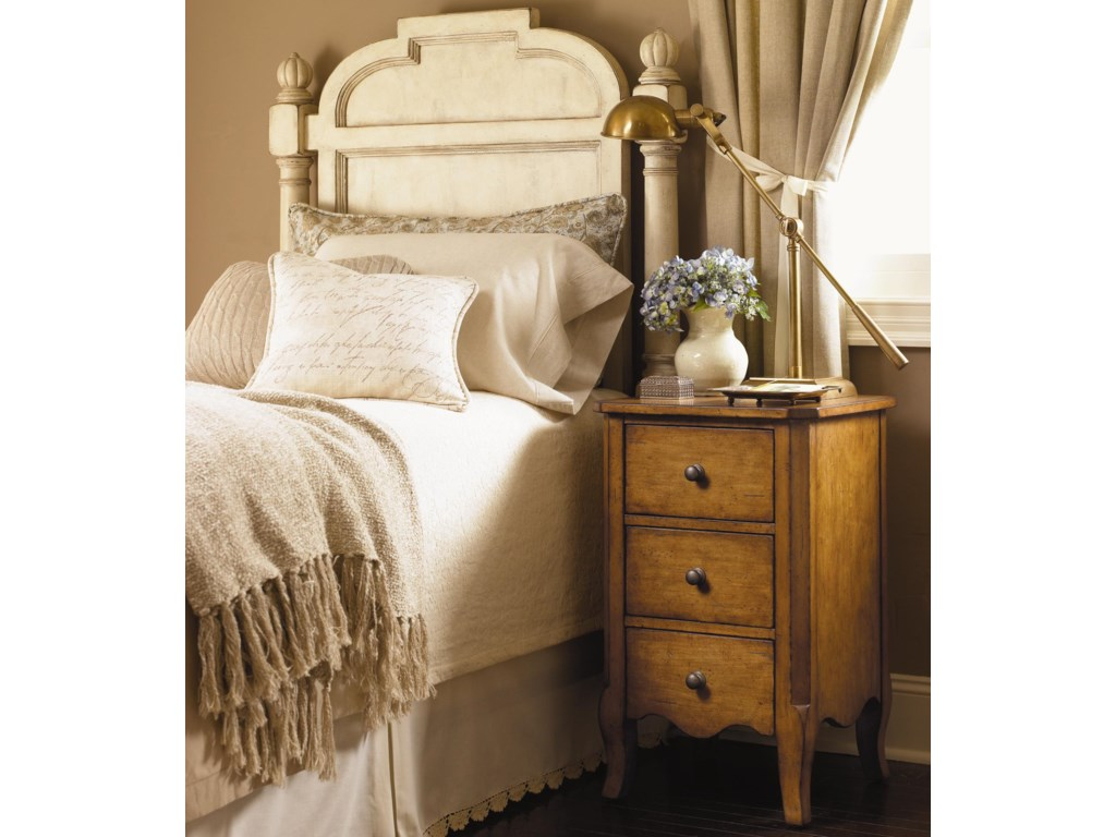 Shown with Harper Nightstand in Chestnut Finish