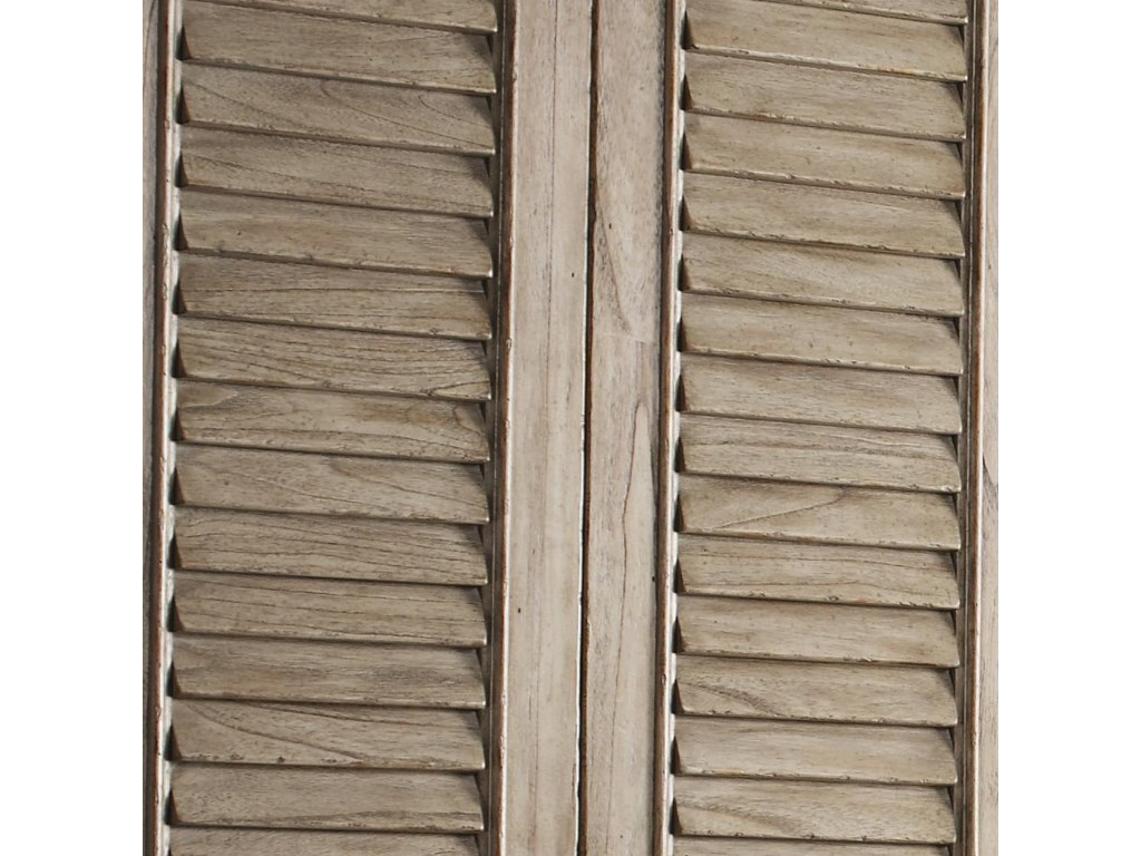 Beautiful Full-Length Louvered Doors