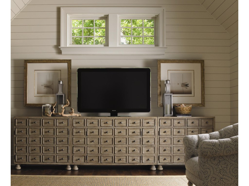 Two Shown Flanking the Andrews Entertainment Console