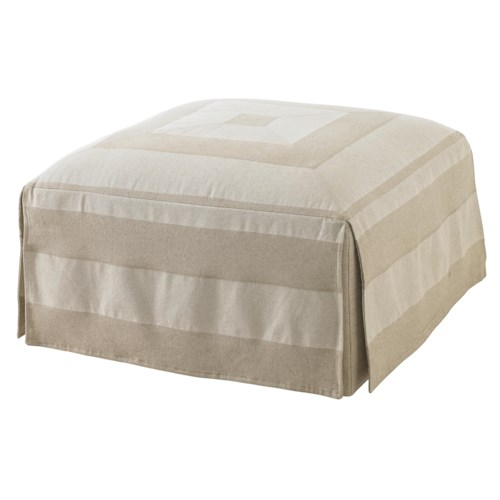 Lexington Twilight Bay Jasmine Ottoman