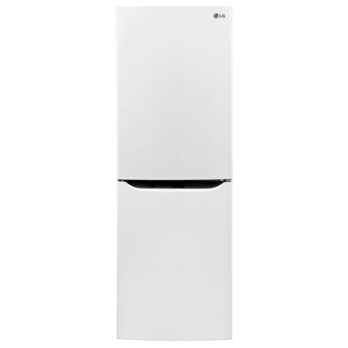 LG Appliances Bottom Freezer Refrigerators 10.1 Cu. Ft. Bottom Freezer Refrigerator with Digital Temperature Controls