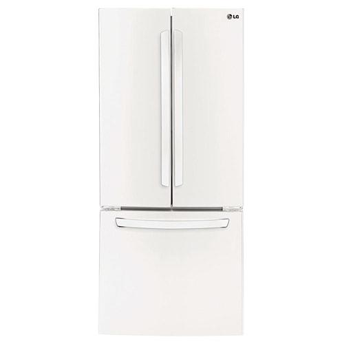 LG Appliances Bottom Freezer Refrigerators ENERGY STAR® 28 Cu.Ft. 3-Door Large Capacity French Door Refrigerator