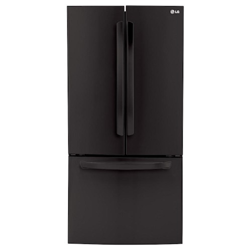 LG Appliances Bottom Freezer Refrigerators ENERGY STAR® 24 Cu.Ft. 3-Door Ultra-Large Capacity French Door Refrigerator