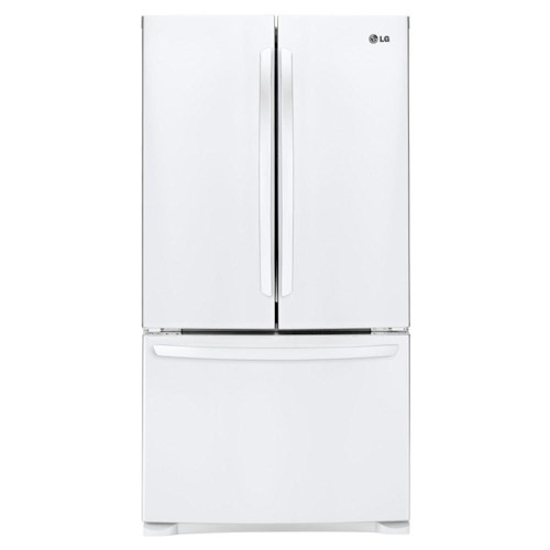 LG Appliances Bottom Freezer Refrigerators ENERGY STAR® 28 Cu.Ft. 3-Door Ultra-Large Capacity French Door Refrigerator