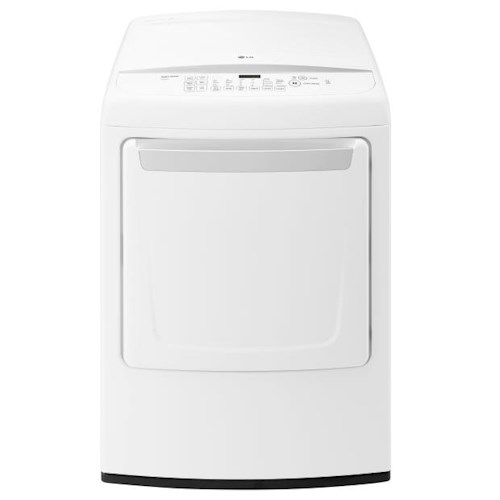 LG Appliances Dryers 7.3 Cu. Ft. Ultra Large Electric Dryer with Sensor Dry