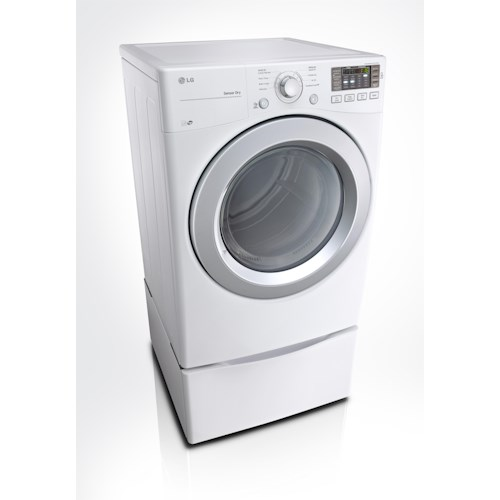 LG Appliances Dryers 7.4 cu. ft. ENERGY STAR® Front Load Electric Dryer