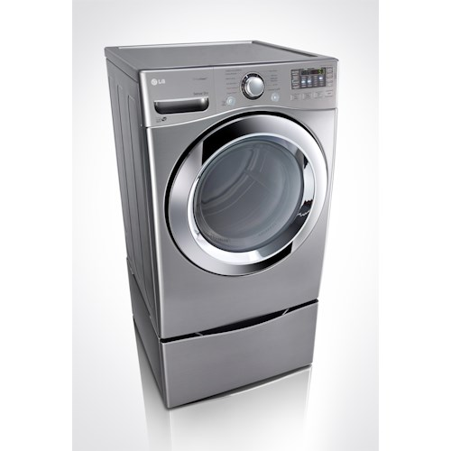 LG Appliances Dryers 7.4 cu. ft. ENERGY STAR® Front Load Electric Dryer with STEAMDRYER™
