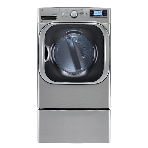 LG Appliances Dryers 9.0 Cu. Ft. Front-Load Electric Mega-Capacity High Efficiency SteamDryer™ with SteamFresh™ Cycle