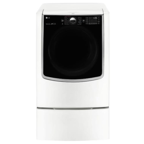 LG Appliances Dryers 9.0 Cu. Ft. Ultra Large Electric Dryer with SteamSanitary Turbo Steam™