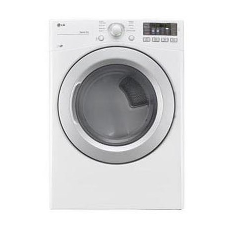 LG Appliances Dryers 7.4 Cu. Ft. Ultra Large High Efficiency Gas Dryer with Sensor Dry and NFC Tag On