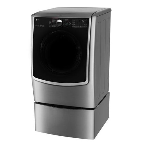 LG Appliances Dryers 7.4 Cu. Ft. Gas Steam Dryer with SteamSanitary Turbo Steam