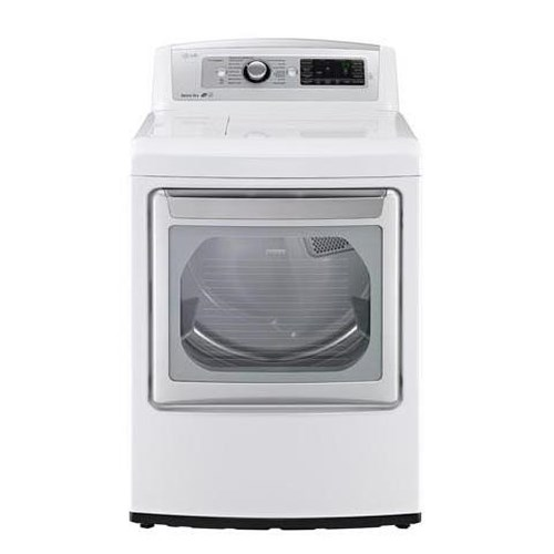 LG Appliances Dryers 7.3 Cu. Ft. Ultra Large High Efficiency Gas Steam Dryer with EasyLoad™ Door
