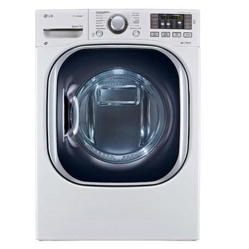 LG Appliances Dryers ENERGY STAR® 7.3 cu. ft. Ultra Large Capacity Dryer with EcoHybrid™ Technology