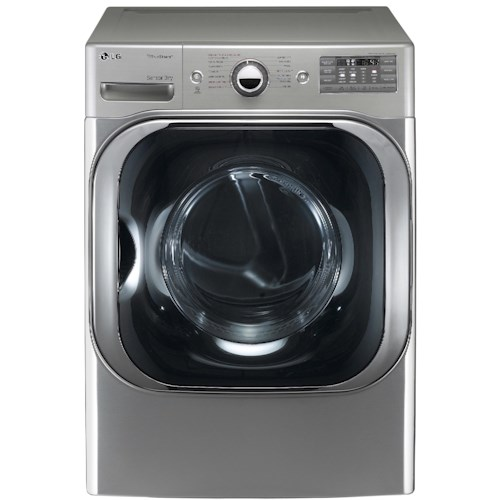 LG Appliances Electric Dryers- 9.0 Cu. Ft. Front-Load Electric Dryer with TrueSteam™ Technology