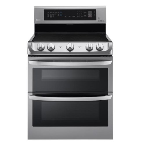LG Appliances Electric Ranges 7.3 Cu. Ft. Double Oven Electric Range with ProBake Convection™, EasyClean® and Infrared Grill System