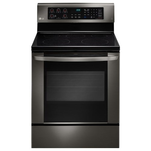 LG Appliances Electric Ranges 6.3 cu. ft. Single Oven Electric Range with EasyClean®