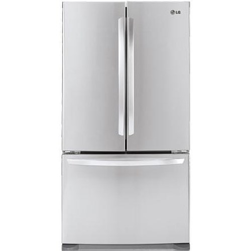 LG Appliances French Door Refrigerators ENERGY STAR® 20.7 Cu. Ft. Counter-Depth French Door Refrigerator with Ice Maker