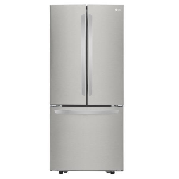 Lg Appliances 21 8 Cu Ft 3 Door French Door Refrigerator