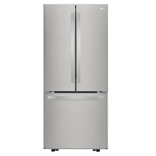LG Appliances French Door Refrigerators 21.8 Cu. Ft. 3-Door French Door Refrigerator