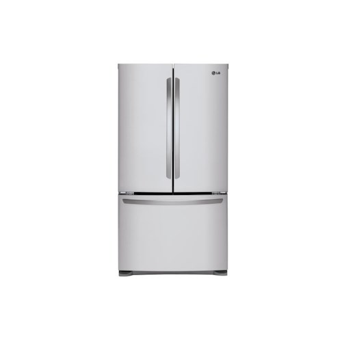 LG Appliances French Door Refrigerators 25 cu. ft. Mega Capacity 3- Door French Door Refrigerator