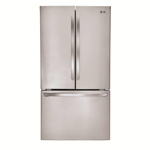 LG Appliances French Door Refrigerators 31. Cu. Ft. Super-Capacity French Door Refrigerator