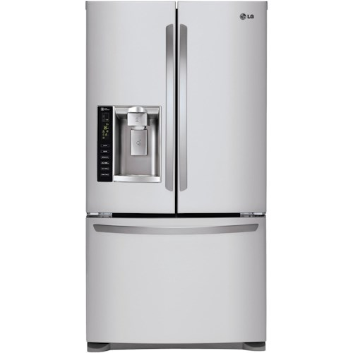 LG Appliances French Door Refrigerators 24.7 Cu. Ft. French Door Refrigerator with Dual Ice Makers