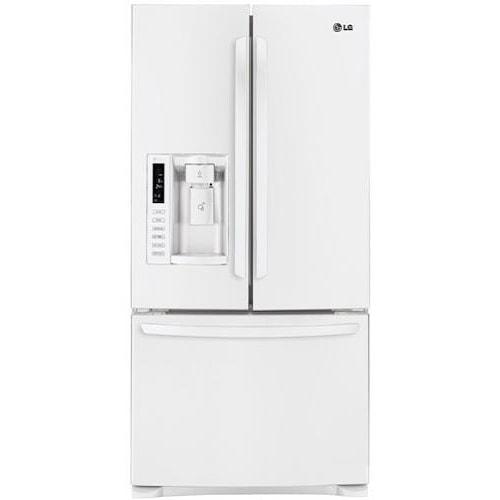 LG Appliances French Door Refrigerators 24.9 Cu. Ft. French Door 33