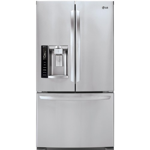 LG Appliances French Door Refrigerators ENERGY STAR® 28 Cu. Ft. French Door Refrigerator with Smart Cooling Technology