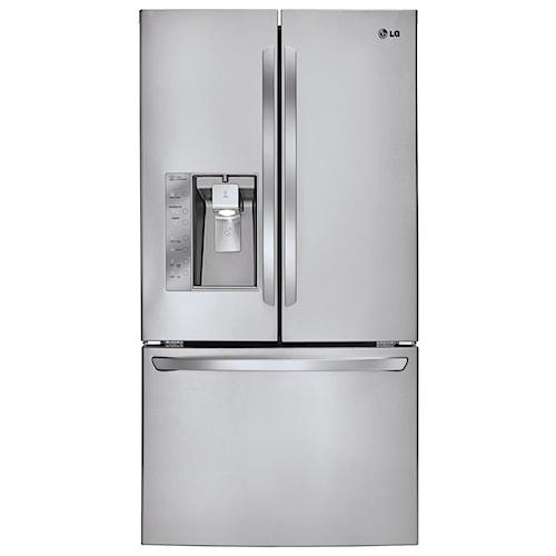 LG Appliances French Door Refrigerators 29.2 Cu. Ft. French Door Refrigerator with Dual Ice Makers