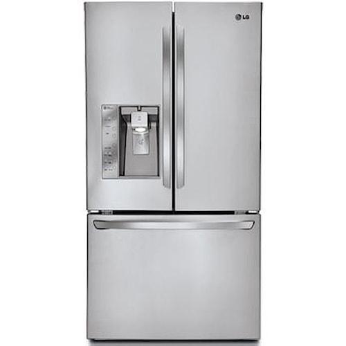 LG Appliances French Door Refrigerators 30.7 Cu. Ft. French Door Refrigerator with Smart Cooling Technology