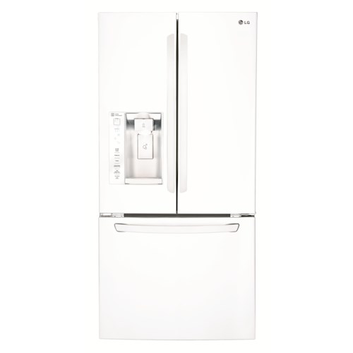 LG Appliances French Door Refrigerators 24.2 Cu. Ft. ENERGY STAR® 3 Door French Door Fridge