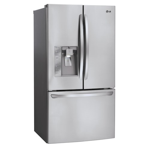 LG Appliances French Door Refrigerators 29 Cu. Ft. ENERGY STAR® 3 Door French Door Refrigerator