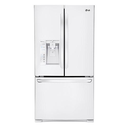 LG Appliances French Door Refrigerators 29 Cu. Ft. ENERGY STAR® 3 Door French Door Refrigerator