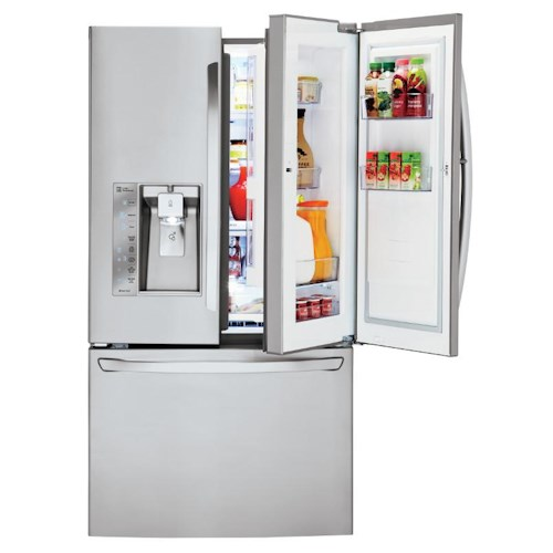 LG Appliances French Door Refrigerators Super-Capacity ENERGY STAR® Door-in-Door® French Door Refrigerator