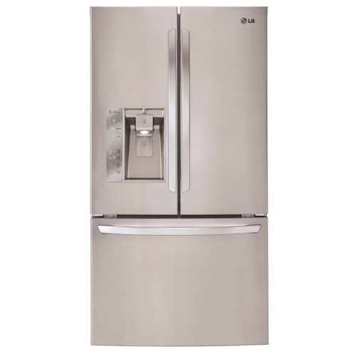 LG Appliances French Door Refrigerators Mega-Capacity ENERGY STAR® 3 Door French Door Refrigerator