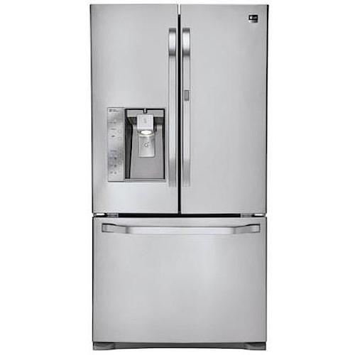 LG Appliances French Door Refrigerators 24 cu. ft. Counter Depth French Door Refrigerator with Door-in-Door™ Easy Access