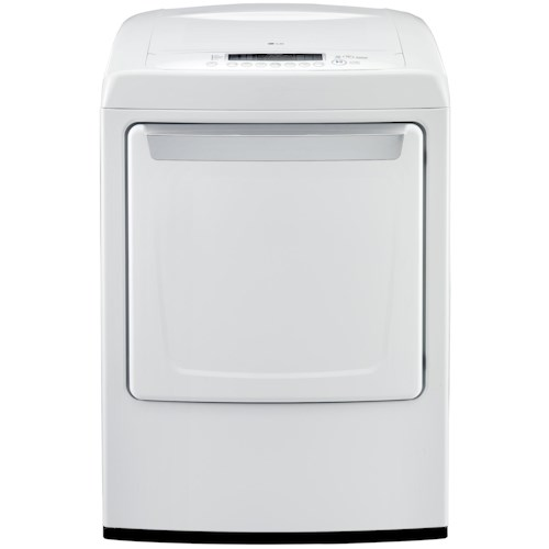 LG Appliances Gas Dryers 7.3 Cu. Ft. Front-Load Gas Dryer with Precise Temperature Control