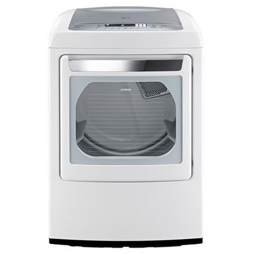 LG Appliances Gas Dryers 7.3 Cu. Ft. Ultra Large Capacity Front-Load Gas Dryer with Front Control Design
